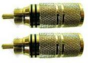 High-End Cinch bis 10mm ein Paar rot/sw