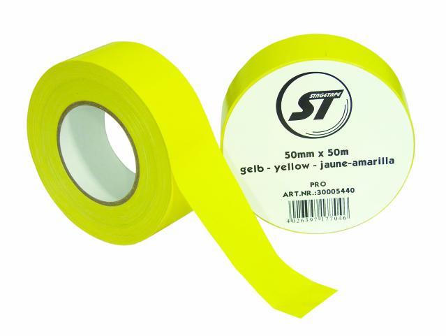 Stagetape PRO 50mm x 50m gelb